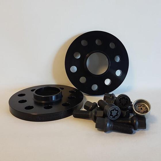 H/&R Spurverbreiterung ABE für BMW i3 i8 2er 5er Mini 36mm schwarz//SI XB55664-18
