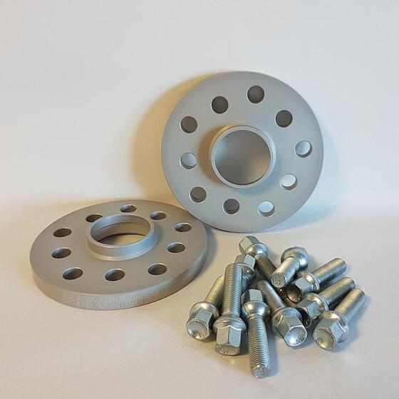 Eibach ABE Spurverbreiterung Schrauben 24 mm pro Achse für AUDI A4 Cabriolet