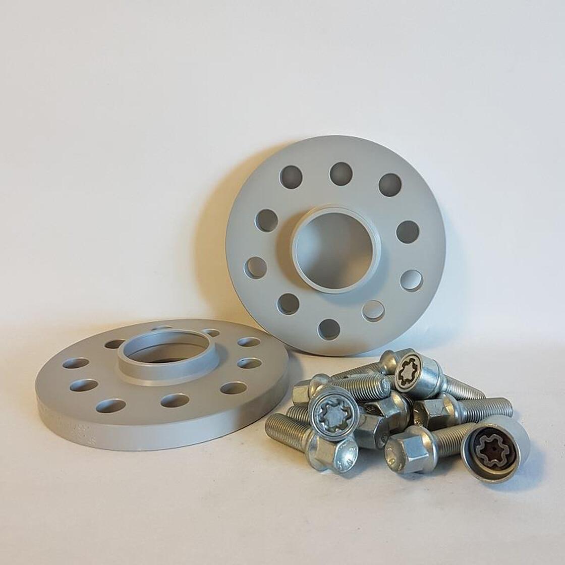 H/&R Spurverbreiterung ABE 20mm AUDI,SEAT,SKODA,VW mit Radschrauben+Felgenschloß